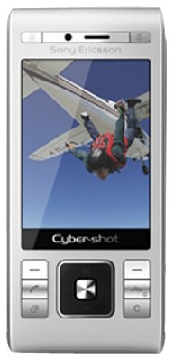Sony Ericsson Handy c905- Cyber-Shot Bluetooth/WiFi Silber