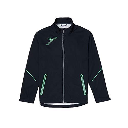 Psycho Bunny Men's Woven Sport Jacket Black Medium