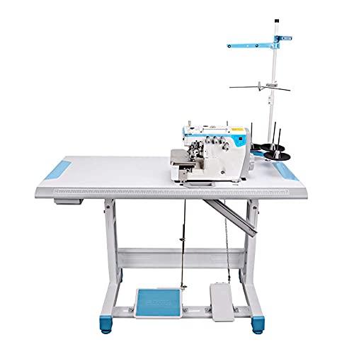 FFYUE Máquina De Hemming Inteligente Industrial Totalmente Automática, Máquina De Dobladillo, Tipo De Cinco Agujas, Adecuado para Trajes De Costura, Pantalones Casuales, Jeans, Etc.