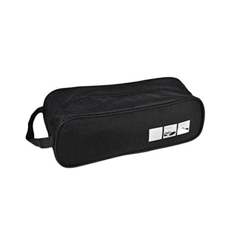 Da.Wa 2pcs Voyage Plein air Stockage des Chaussures Chau Imperméables Respirant portatif Sports Portables Sacs Package