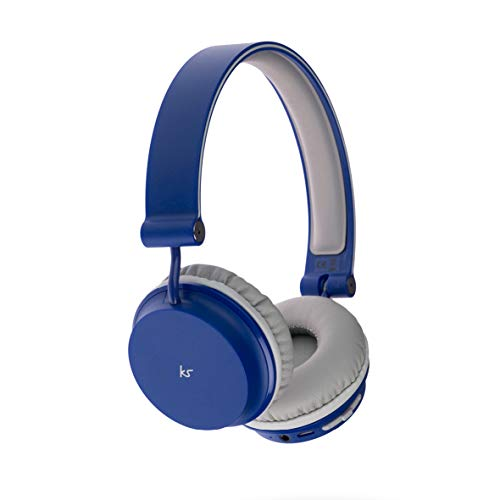 KitSound Metro Wireless On-Ear Bluetooth Headphone for Smartphone and...