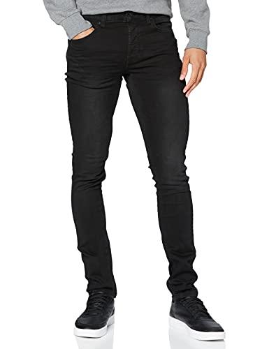 ONLY & SONS Onsloom Black Jog 7451 PK Noos pantalones vaqueros delgados, Negro), W29/L32 para Hombre