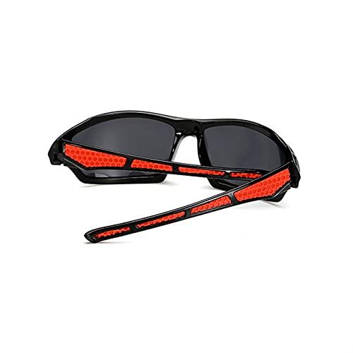 WDEEFR Frio Gafas de Pesca polarizada Hombres y Gafas Deportivas para Mujeres UV400 Ciclismo al Aire Libre Senderismo Conducción Gafas de Sol (Color : F05 with Box, Size : 150 * 55 * 30mm)