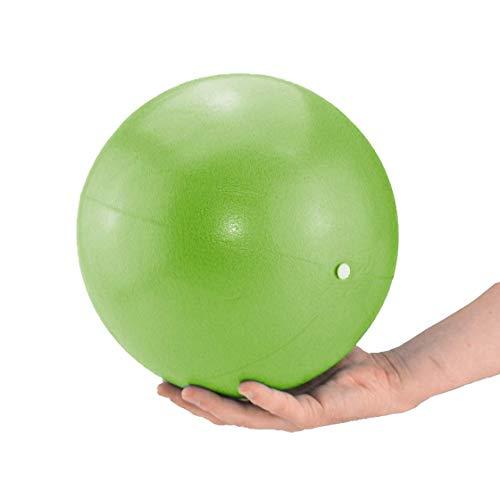 ATC Handels GmbH - Palla da pilates e yoga, 26 cm, blu, rosso, giallo, palla da ginnastica per yoga, pilates, palla terapeutica, verde tiglio