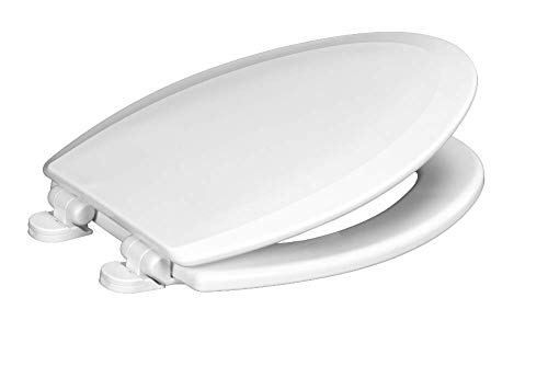 Centoco 900SC-001 Elongated Wooden Toilet Seat Featuring...