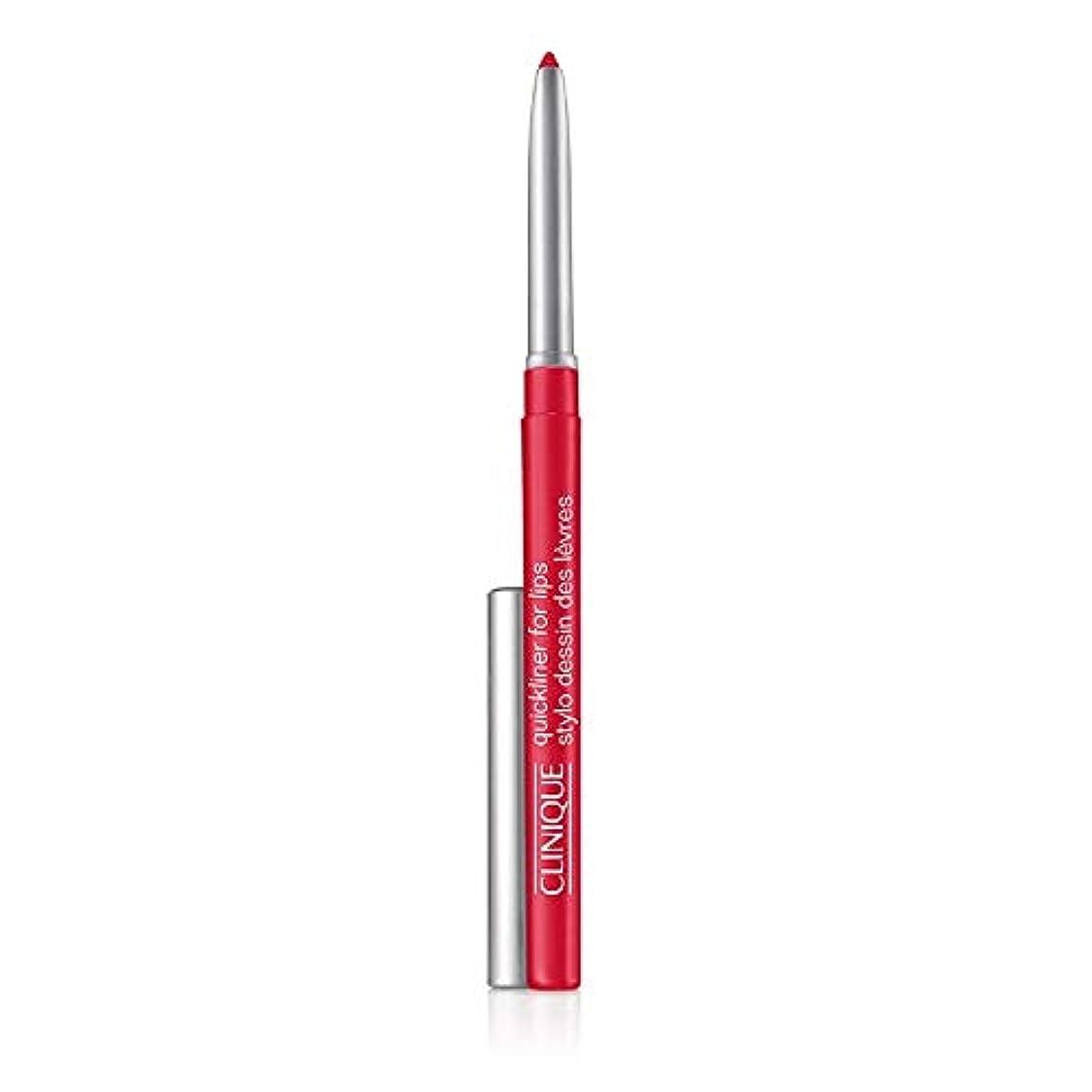 ラジカルのみがんばり続けるクリニーク Quickliner For Lips - 47 French Poppy 0.3g/0.01oz並行輸入品