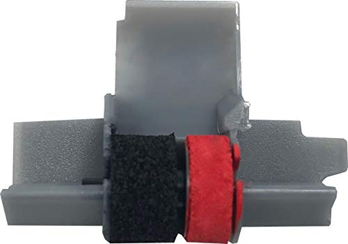 IR-40T Ink Roller, Black and Red Compatible with Canon P23-DH V Calculator, Casio HR-100TM, HR-150TM (1 Pack)