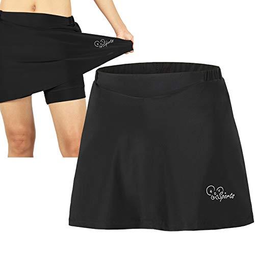 Culotes Ciclismo Mujer, para Mujer 2 en 1 Transpirable Pantalones Cortos de...
