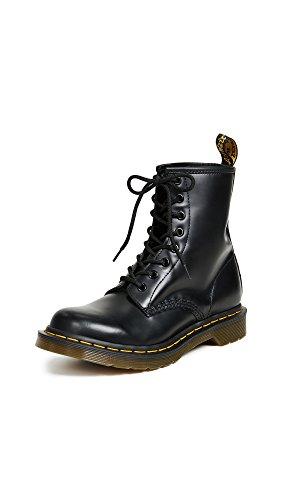Dr. Martens Women's 1460 8 Eye Boots, Black, 8 Medium US