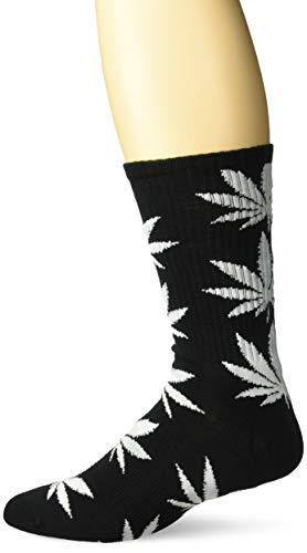 HUF Herren Plantlife Socken, schwarz, Einheitsgröße
