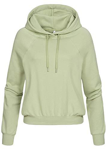 Hailys Damen Sweatshirt Selin hellgrün L