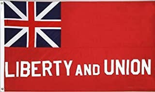 Annin Flagmakers 319600 Taunton Liberty and Union Flag Nyl-Glo-3 ft. X 5 ft.