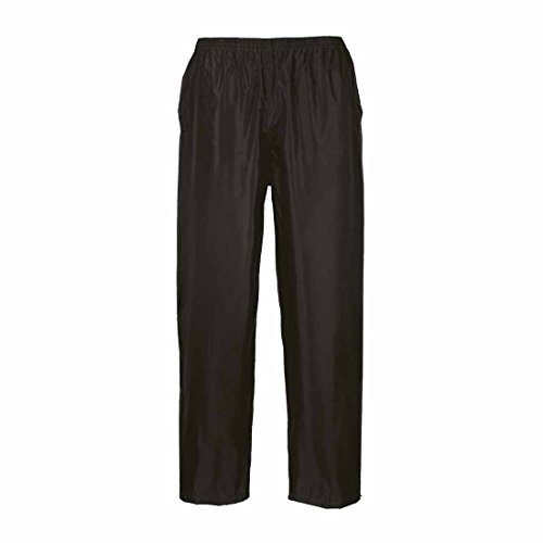 portwest/dallaswear Erwachsene Wasserfeste Hose (Größen XS-4XL) - Schwarz, L