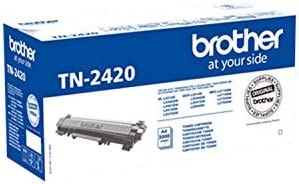 Brother TN2420 - Cartouche Originale de Toner Noire - Autonomie de 3000 Pages - Pour Imprimante Laser Série L2000