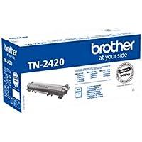Brother TN2420 - Tóner negro original de larga duración para las impresoras: HLL2310D, HLL2350DW, HLL2370DN, HLL2375DW, DCPL2510D, DCPL2530DW, DCPL2550DN, MFCL2710DW, MFCL2730DW, MFCL2750DW