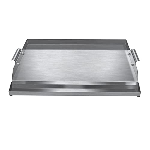 WINTRON Universal Non-Stick Stainless Steel Griddle Pan 16