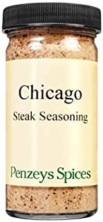 Chicago Steak Seasoning By Penzeys Spices 3.6 oz 1/2 cup jar