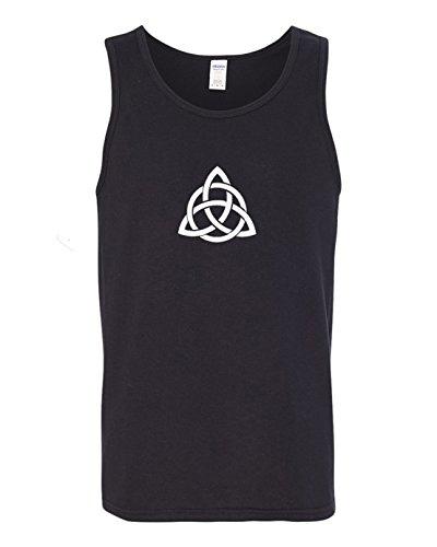 Got-Tee Triquetra Celtic Knot Symbol Mens Tank Top X-Large Black