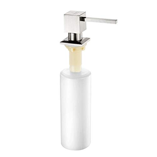 Dispensadores de loción y jabón Dispensador de jabón Detergente for la cocina Fregadero for la botella Sartén for el fregadero Accesorios Botella for detergente Cabeza de bomba de acero inoxidable 350