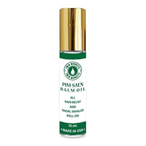 TWIN MONKEYS   Pure PIM-SAEN Aromatherapy Menthol Nasal...
