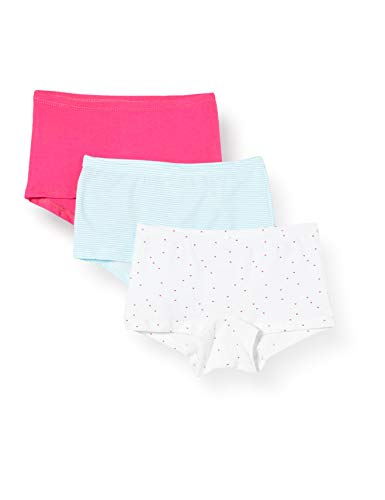 Schiesser Mädchen Multipack 3PACK Shorts Unterwäsche, Sortiert 1, 116