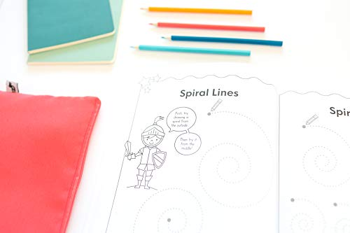 My Magical Preschool Workbook: Letter Tracing | Coloring for Kids Ages 3 + | Lines and Shapes Pen Control | Toddler Learning Activities | Pre K to Kindergarten (Preschool Workbooks)