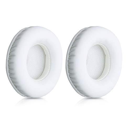 kwmobile Almohadillas compatibles con Sennheiser Urbanite - 2X Almohadilla de Repuesto para Cascos y Auriculares en Cuero sintético