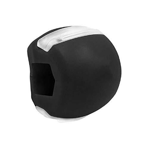 Jaw Ball Ejercitador facial Dispositivo de ejercicio de doble mentón Bola de fitness, Gel de sílice Entrenador de músculos faciales para fortalecer y dar forma a la línea de la mandíbula