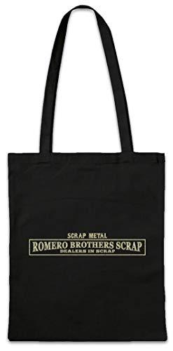Urban Backwoods Romero Brothers Scrap Hipster Bag Beutel Stofftasche Einkaufstasche