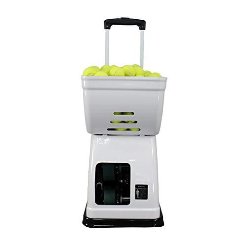 Tragbare Tennisballmaschine   Stilvolle Und Leichte Struktur   Multifunktionsfernbedienung   150 Stück Large Capacity Design   Ultra Leise   Geeignet for Heimschulklubs