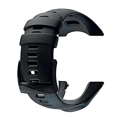 Suunto, Ambit3 Sport Silicone, Cinturino, Unisex - Adulto, Nero, Taglia Unica