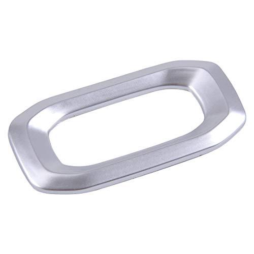 XIANGSHAN 2pcs ABS Coche Cerradura de la Puerta Interior Interruptor de botón Ajuste de la Cubierta de moldeo Ajuste for for Wrangler 2018 JL