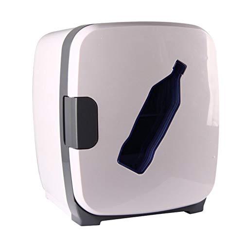 ZHENYUE Tragbare ini Frige Gefrierschrank Kühlbox EIN Warer Quiet Copact Auto ini Kühlschrank Energy Efficient oder Roo Büro-Wite 13L (Color : White, Size : 13L)