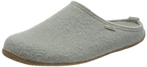 Living Kitzbühel Unisex Pantoffel unifarben mit Fußbett Hausschuh, Lily pad, 42 EU