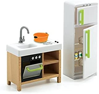 Djeco Dollhouse Collection, Compact Kitchen