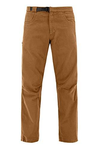 Café Kraft Herren Universum Pants Boulderhose Kletterhose Climbing (Brown, M)
