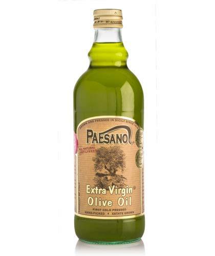 Paesanol Extra Virgin Oil Olive Unfiltered 33.8 Fl Oz