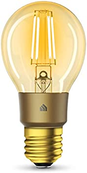 Kasa TP-Link Filament A19 E26 Smart Wi-Fi LED Light Bulb