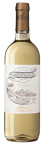 6x 0,75l - 2018er - Santa Cristina - Campogrande - Orvieto Classico D.O.C. - Umbrien - Italien - Weißwein trocken