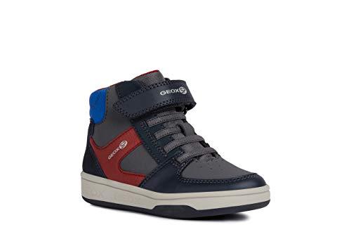 Geox Laufschuhe Jungen, Farbe Grau, Marke, Modell Laufschuhe Jungen J94G3B Grau