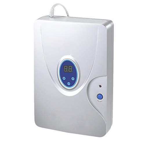 gridinlux | OZONO | Generador de Ozono | Purificador Aire y Agua | Multifuncional | Compacto | Iones | Aniones | Portátil | Ozonizador doméstico | 10W