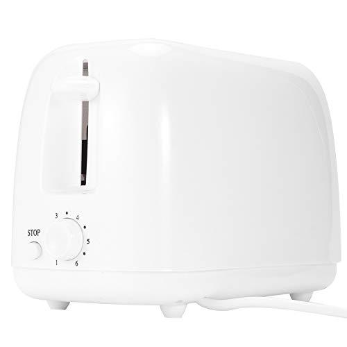 ZHenMei Tostadora de Pan de 650W 6 Engranajes Ajuste de Temperatura Cocina Hogar Tostador 220 White 240V