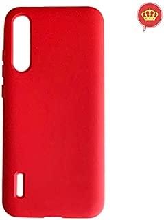 Capa Vermelha Xiaomi Mi A3 Silicone Resistente, Touch Incrível