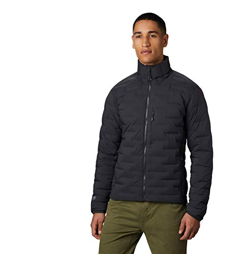 Mountain Hardwear Super/DS Men's Insulated Jacket for Hiking, Camping, Climbing and Everyday - Void - Large