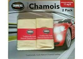 Tanners Tradition - British Standard - Gamuza de piel (tamaño grande, 2 unidades)