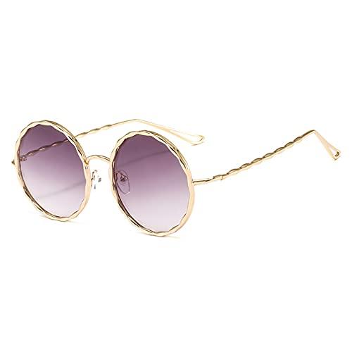LUOXUEFEI Gafas De Sol Gafas De Sol Redondas Gafas De Sol Para Hombre Gafas De Sol Para Mujer Gafas