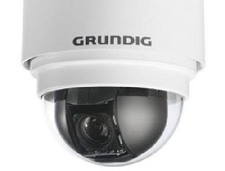 GCI-C0745P-1 GRUNDIG, buitenmotordome-IP-camera 36-voudige zoom ICR WDR