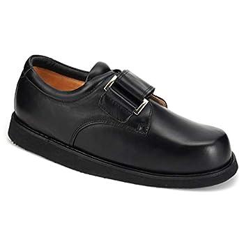 Apis Mt Emey Men 502-C Black Leather 6.5 XXX-Wide  9E  US