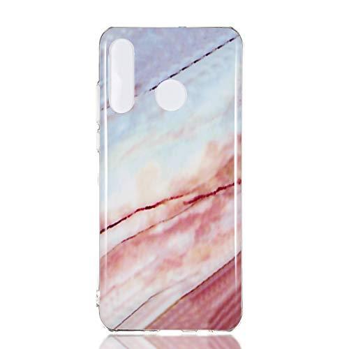 Lomogo Huawei P30 Lite/Nova 4e Hülle Silikon, Schutzhülle Stoßfest Kratzfest Handyhülle Case für Huawei P30Lite / Nova4e - LOYHU230881#5