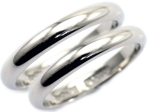 [京都ジュエリー工房] 結婚指輪 プラチナ マリッジリング ペアリング 純プラチナ pt1000 (pt999) 甲丸 2本セット ブライダルリング 造幣局検定マーク ホールマーク 入り レディース メンズ 2本 セット mari-kou-pt1000-2